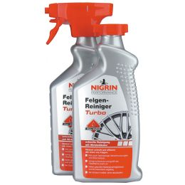 NIGRIN Performance Felgen-Reiniger Turbo, 500 ml Doppelpack