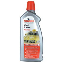 NIGRIN Performance Wash & Wax Turbo Auto-Shampoo, 1 Liter