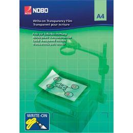 nobo Schreibfolie, DIN A4, transparent, 120 my