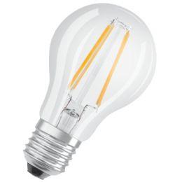 OSRAM LED-Lampe PARATHOM CLASSIC A, 7 Watt, E27, klar