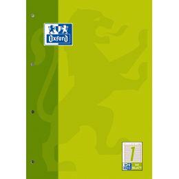 Oxford Arbeitsblock, DIN A4, 50 Blatt, kariert 5 mm