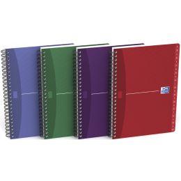 Oxford Office Registerbuch, DIN A5, liniert, Karton