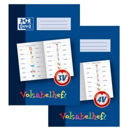 Oxford Vokabelheft, Lineatur: 4V, DIN A4, 16 Blatt