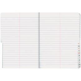 Oxford Vokabelheft mit Register, DIN A5, 2-spaltig, 48 Blatt