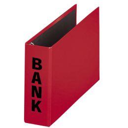 PAGNA Bankordner Basic Colours, für Kontoauszüge, rot