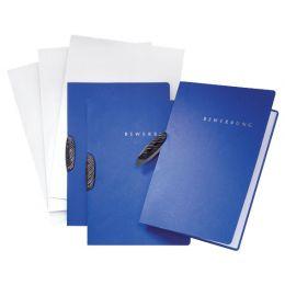PAGNA Bewerbungs-Set Swing, DIN A4, aus Karton, blau