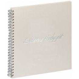 PAGNA Hochzeits-Spiralalbum Silberne Hochzeit