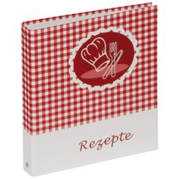 PAGNA Kochrezepte-Ringbuch, Motiv: Olive & Tomate, DIN A5