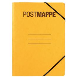 PAGNA Postmappe, DIN A4, Karton, gelb