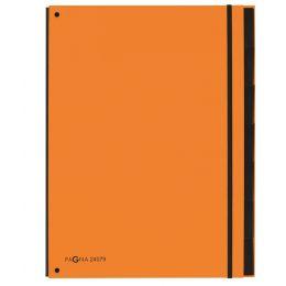 PAGNA Pultordner Part File Trend, A4, 7-teilig, orange