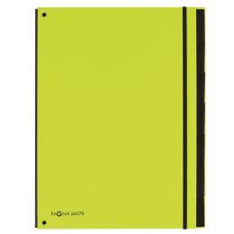 PAGNA Pultordner Part File Trend, A4, 7-teilig, lindgrün