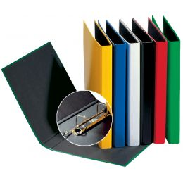 PAGNA Ringbuch Basic Colours, 2 Bügel-Mechanik, rot