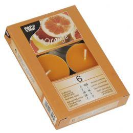 PAPSTAR Duft-Teelichter, Durchmesser: 38 mm, orange