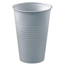 PAPSTAR Kunststoff-Trinkbecher PS Economy, 0,2 l, weiß