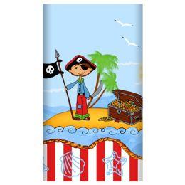 PAPSTAR Motiv-Tischdecke Pirate Island, lackiert