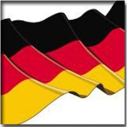 PAPSTAR Motivservietten Germany, 330 x 330 mm