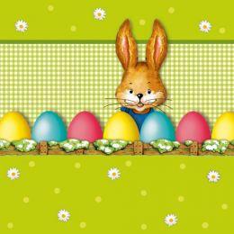 PAPSTAR Oster-Motivservietten Hello Bunny