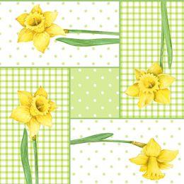 PAPSTAR Oster-Motivservietten Spring Blossoms