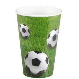 PAPSTAR Papp-Trinkbecher Football, 0,2 l
