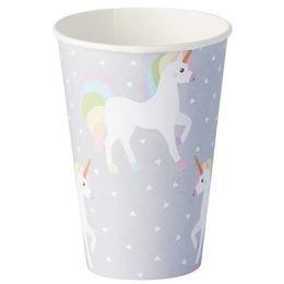 PAPSTAR Papp-Trinkbecher Unicorn, 0,2 l