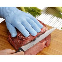 PAPSTAR Schnittschutzhandschuh blau, Größe M