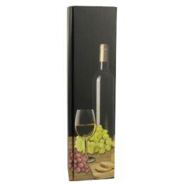 PAPSTAR Wein-Präsentkarton Weißwein, für 1 Flasche