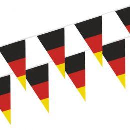 PAPSTAR Wimpelkette Germany, schwarz/rot/gelb, aus Folie