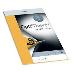 PAPYRUS Designpapier OptiDesign, A4, goldgelb