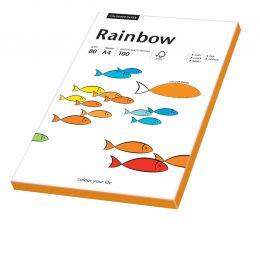 PAPYRUS Multifunktionspapier Rainbow, A4, neonorange