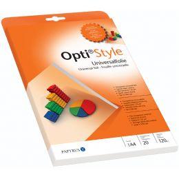 PAPYRUS Universal-Inkjet-Folie Opti Style, DIN A4, 135 my