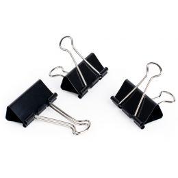 pavo Foldback-Klammer, (B)25 mm, Klemmweite 9 mm, schwarz
