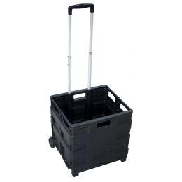 pavo Klapp-Transportkarre mit Klappbox, Tragkraft: bis 20 kg