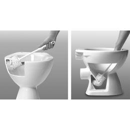 Peggy Perfect WC-Bürste 2000, Kunststoff, Rundkopf, weiß