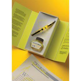 Pelikan Textmarker-Tinte im Glas, leuchtgelb