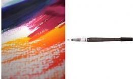 PentelArts Nachfüllpatrone Colour Brush, schwarz