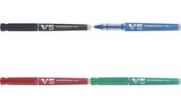 PILOT Tintenpatronen für Tintenroller V5/V7, schwarz
