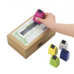 PLUS JAPAN Datenschutz-Rollstempel Standard, pink