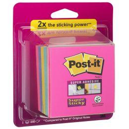 Post-it Haftnotiz-Würfel Super Sticky Notes, 76 x 76 mm