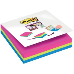 Post-it Haftnotizen Super Sticky Notes, 101x101 mm, liniert