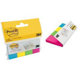 Post-it Pagemarker aus Papier, 20 x 38 mm, Neonfarben