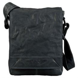 PRIDE&SOUL Umhängetasche CLOUD, aus Leder, schwarz