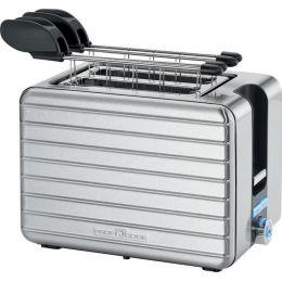 PROFI COOK 2-Scheiben-Toaster PC-TAZ 1110, edelstahl
