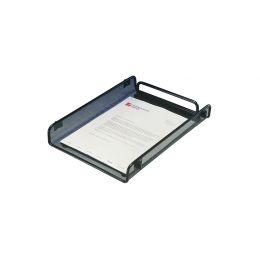 Rexel Briefablage, DIN A4, aus Drahtmetall, schwarz