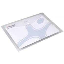 Rexel Dokumententasche ICE, DIN A3 quer, PP, transparent