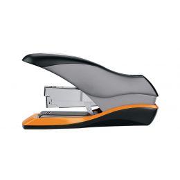 Rexel Flachheftgerät Optima 70, schwarz/silber/orange