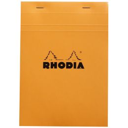 RHODIA Notizblock No. 16, DIN A5, kariert, orange