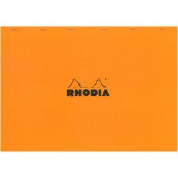 RHODIA Notizblock No. 38, DIN A3+, kariert, orange