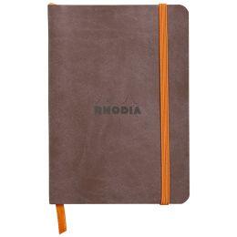 RHODIA Notizbuch RHODIARAMA, DIN A6, liniert, schokolade