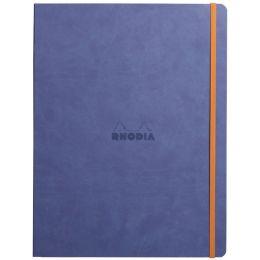 RHODIA Notizbuch RHODIARAMA, DIN A4+, liniert, saphirblau