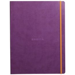RHODIA Notizbuch RHODIARAMA, DIN A4+, liniert, lila